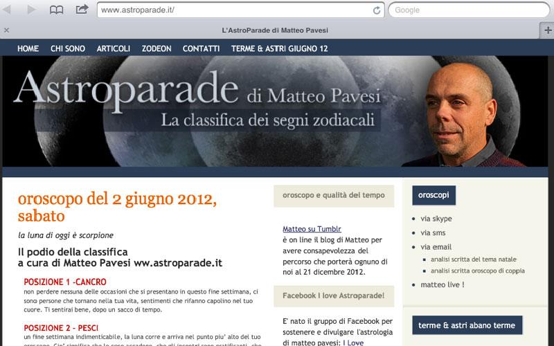 Matteo Pavesi: vi spiego come unire astri e Social Media